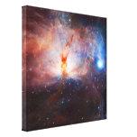 Fuegos de la nebulosa de la llama - NGC 2024 en Or Impresiones En Lona Estiradas