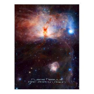 Fuegos de la nebulosa de la llama - NGC 2024 en Postales