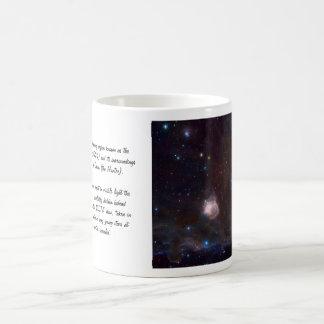 Fuegos de la nebulosa de la llama - NGC 2024 en Taza De Café