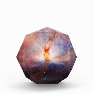 Fuegos de la nebulosa de la llama - ornamento del