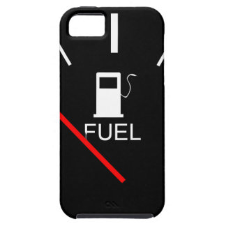 FUEL GAUGE EMPTY FULL BLACK WHITE RED TRAVEL iPhone 5 COVER