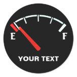 funny, fuel, gauge, full, empty, meter, indicator,