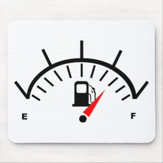 Fuel Gauge Mouse Pad