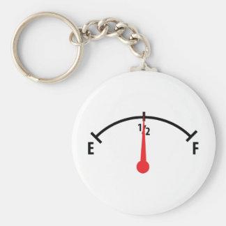 fuel indicator icon keychain