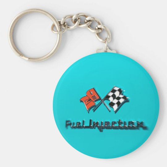 Fuel Injection Badge Keychain