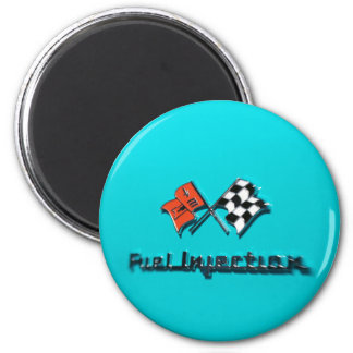 Fuel Injection Badge 2 Inch Round Magnet
