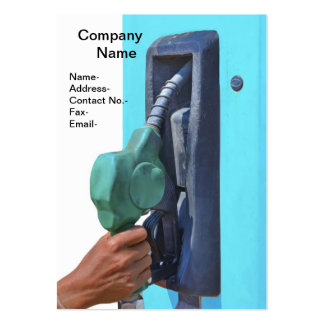 Fuel refilling large business card
