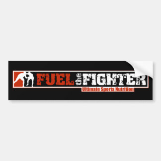 Fuel The Fighter Bumper Sticker