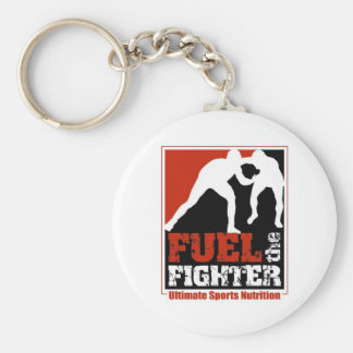 Fuel The Fighter Keychain