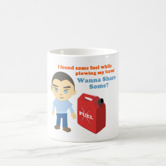 """Fuel to Share"" Game T-Shirt Coffee Mug"