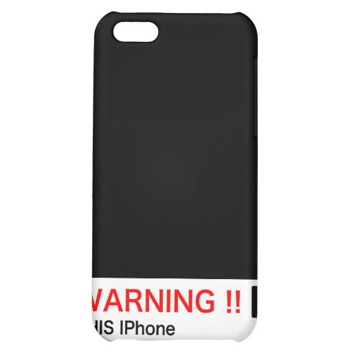FUEL WARNING SIGN (IPhone Version)  CAR GEEK ITEM Cover For iPhone 5C