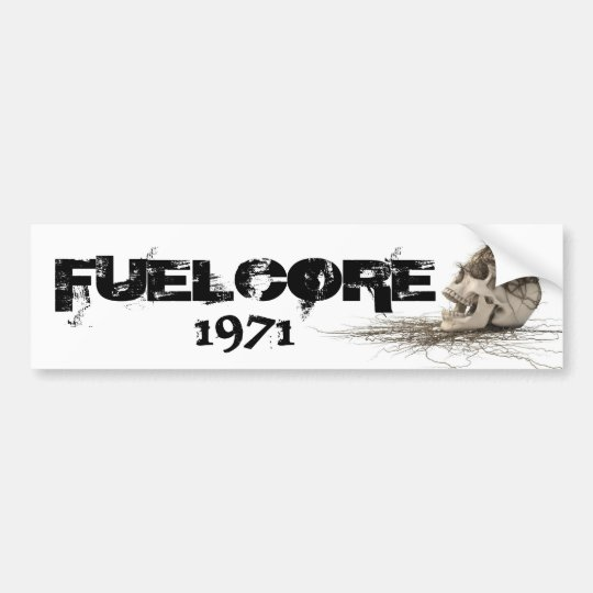 FUELCORE 1971 to sticker