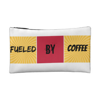 Fueled by Coffee Cosmetic Bag