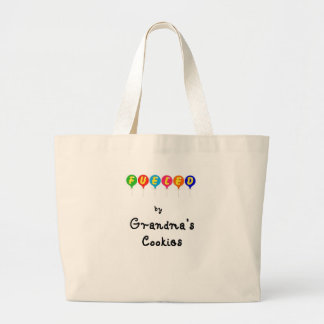 Fueled by Gramma's Cookies Tote Bag