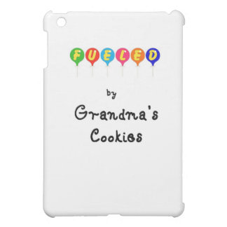 Fueled by Gramma's Cookies iPad Mini Cases