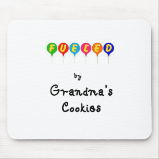 Fueled by Gramma's Cookies Mouse Pad
