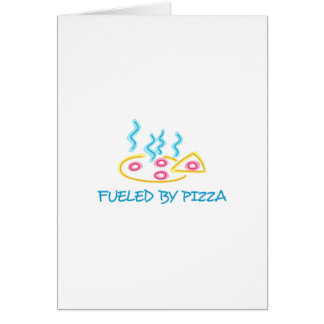 Fueled By Pizza Cards