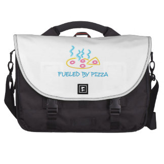 Fueled By Pizza Commuter Bag