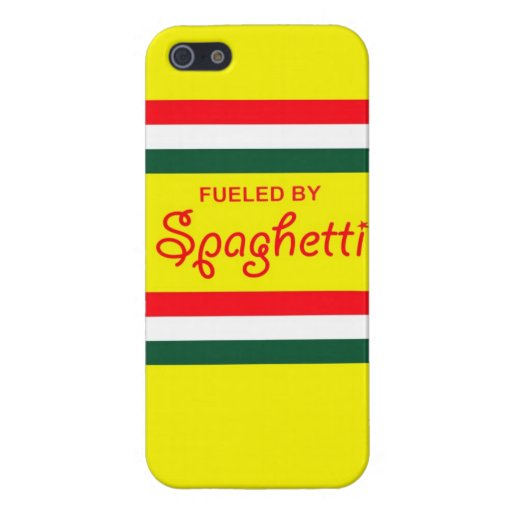 Fueled by Spaghetti iphone 5 case