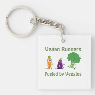 Fueled by Veggies Keychain