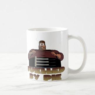 Fuelled by pie coffee mug