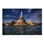 Fuente 0416 de la isla de la belleza postales