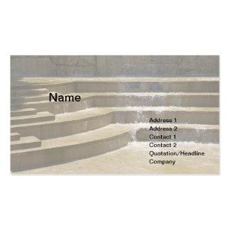 fuente al aire libre simple plantillas de tarjeta de negocio