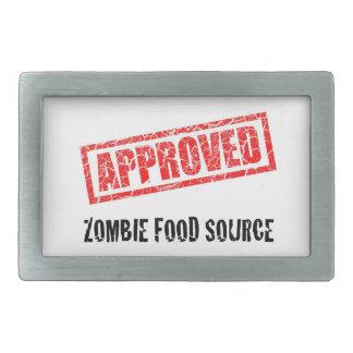 Fuente APROBADA de la comida del zombi -- Correa B Hebilla Cinturon Rectangular