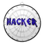 Fuente áspera del pirata informático de lujo tablero de dardos