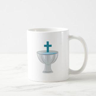 Fuente bautismal taza clásica