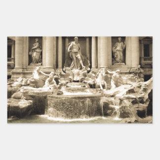Fuente clásica del Trevi, Roma Rectangular Altavoz