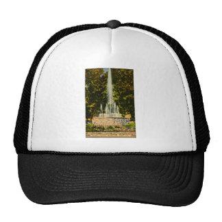Fuente conmemorativa, Central Park, Lansing, Michi Gorro De Camionero