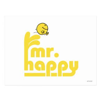 Fuente de agua de Sr. Happy el | Postal