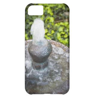 Fuente de agua en el jardín funda para iPhone 5C