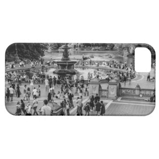 Fuente de Bethesda en foto del Central Park iPhone 5 Cárcasa