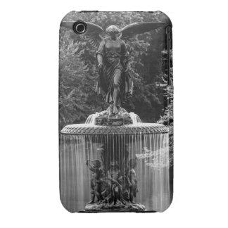 Fuente de Bethesda en foto del Central Park iPhone 3 Case-Mate Protector