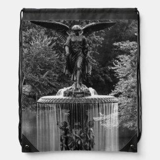 Fuente de Bethesda en foto del Central Park Mochila