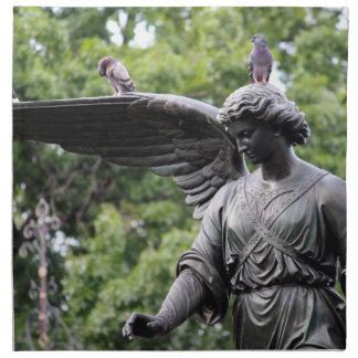 Fuente de Bethesda en foto del Central Park Servilleta
