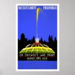 Fuente de Buckingham WPA 1939 Impresiones