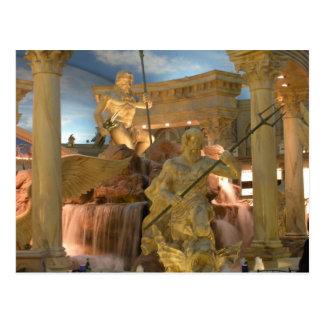 Fuente de dioses (Zeus) Postales