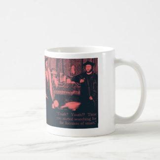 fuente de elegante taza clásica