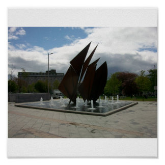 Fuente de Galway Póster