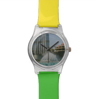 Fuente de la alameda de Dubai Relojes