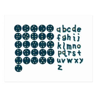 Fuente de la constelación tarjetas postales