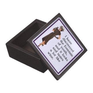 Fuente de la juventud caja de joyas de calidad