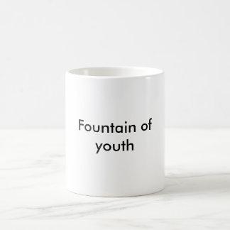 Fuente de la juventud taza