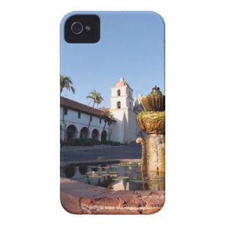 Fuente de la misión de Santa Barbara iPhone 4 Funda