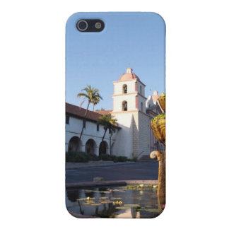 Fuente de la misión de Santa Barbara iPhone 5 Cárcasa