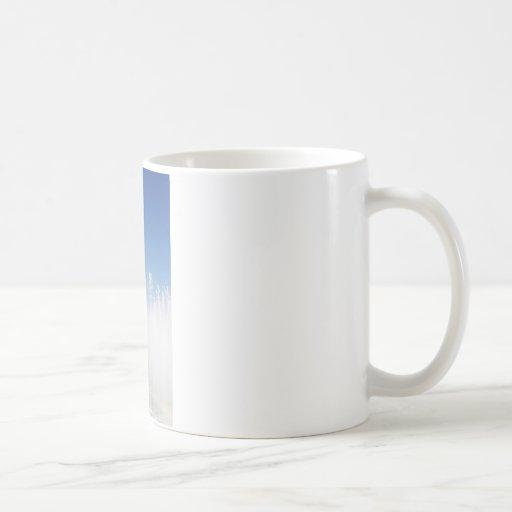 Fuente de la paz taza básica blanca