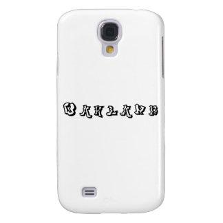 Fuente de la pintada de Oakland Funda Para Galaxy S4